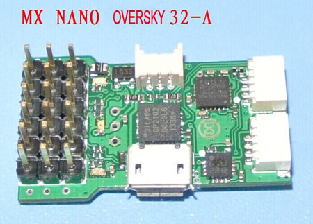 MX NANO OVERSKY 32 type A Pro flight control board for Hermit - Click Image to Close